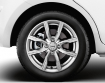 15'' Alloy Wheels - Silver Grey (x4)